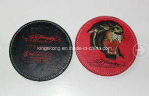 Promotional Gift Leather Cup Mat/Coaster pictures & photos