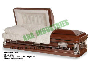 Metal Casket (ANA) for Funeral Product pictures & photos