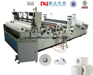 Automatic Toilet Paper Making Machine Maxi Roll Making Machine Prices pictures & photos