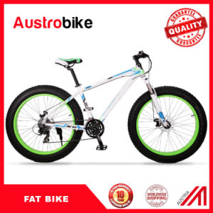 New Modle Popular Snow Fat Bike/ Snow Ski Bike China / Fat Tire Bikes with Double Fork Suspension