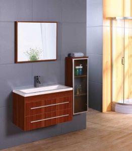 Melamine Used Bathroom Vanity Cabinets/Round Bathroom Vanity Furniture pictures & photos
