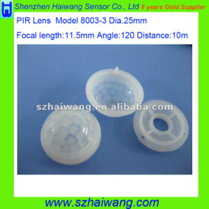 Wide Angle HDPE PIR Fresnel Lens for PIR Sensor 8003-3 pictures & photos