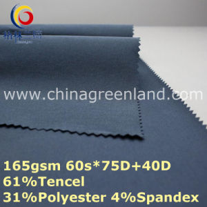 Tencel Polyester Spandex Fabric for Woman Pants (GLLML363) pictures & photos