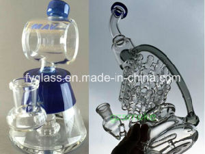 Hand Glass Water Pipe with Recycling Functions pictures & photos