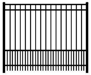 China Antique Decorative Used Wrought Iron Fence Panels