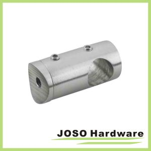 Stainless Steel Center Standoff Connector Handrail Fittings (HDA402) pictures & photos