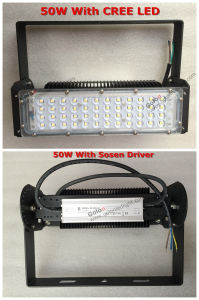 High Quality LED Tunnel Light with Sosen Driver Creechip 50W LED Flood Light pictures & photos