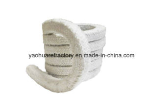 Stainless Steel Reinforced Ceramic Fiber Square Rope for Thermal Insulation pictures & photos