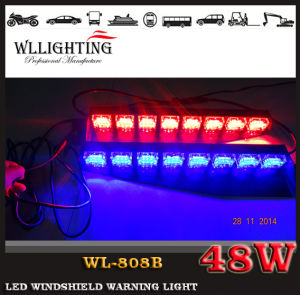 Linear Fire Truck Red Blue LED Warning Windshield Light pictures & photos