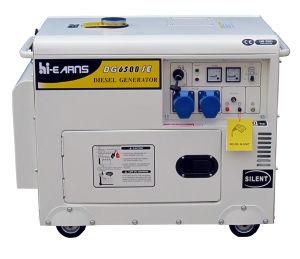 2-5kw Silent Power Diesel Generator Set (DG6500SE New Type) pictures & photos