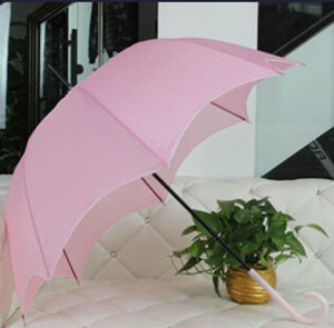 New Design Transparent Beach Pearl Umbrella pictures & photos