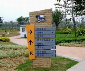 Outdoor Building Stainless Steel Directory Signs pictures & photos