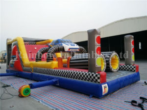 New Inflatable Racing Car Obstacle Course pictures & photos