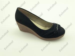 2015 New Ladies Shoes Wedge Heel Ladies Shoes