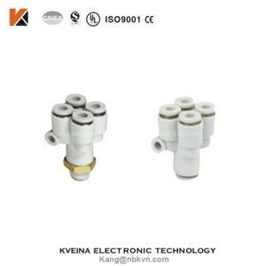 China Supplier One Touch Pneumatic Brass Fitting with PC10-03 pictures & photos