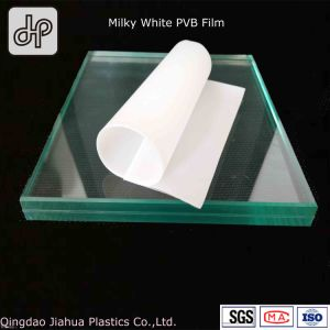 Milke White 0.38mm Thickness PVB Film for Architecture Building Glass pictures & photos