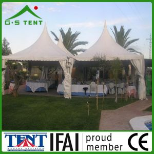 Big Party 6X6 Aluminum Pagoda Pergola Canopy Tent for Sale pictures & photos