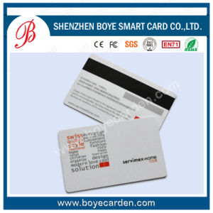 Hotel Key Card Plastic Cards with Magnetic Stripe pictures & photos
