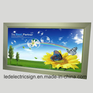 Snap Frame Aluminum Picture Frame LED Display Board pictures & photos