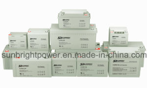 Maintenance Free 12V85ah Deep Cycle Solar Power Battery pictures & photos