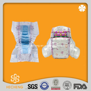Good Absorbency Baby Diaper with Clothlike Breathable Backsheet pictures & photos