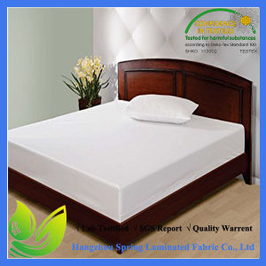 Anti Bed Bug White Loop Pile Waterproof Mattress Encasement pictures & photos