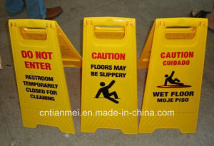 Customized PP Floor Warning Caution Sign pictures & photos