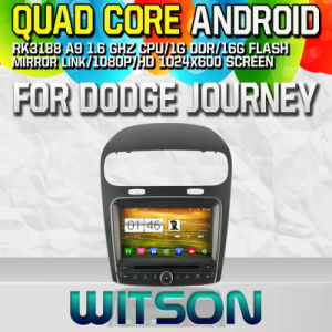 Witson S160 FIAT Dodge Journey Car DVD GPS Player with Rk3188 Quad Core HD 1024X600 Screen 16GB Flash 1080P WiFi 3G Front DVR DVB-T Mirror-Link (W2-M268) pictures & photos