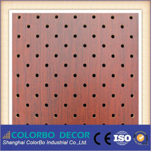Customized Hole Acoustic Wooden Panel pictures & photos