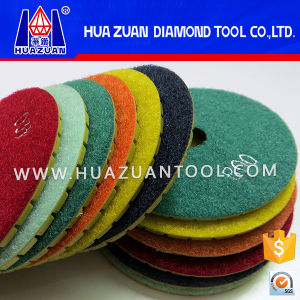 4 Inch Diamond Polishing Pads for Sale pictures & photos