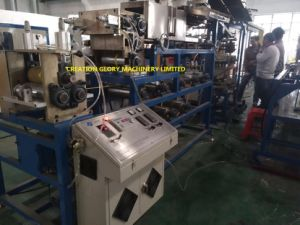 High Quality Steel Measure Tape Nylon Coating Extrusion Line pictures & photos