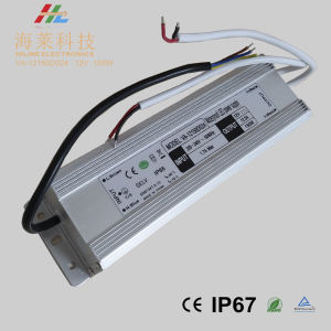 New Arrival Small Size Linear 12V 150W Waterproof IP67 LED Driver pictures & photos
