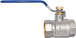 Brass Water Ball Valves with Long Handle (a. 7012) pictures & photos