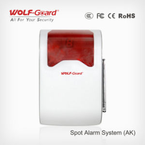 Spot Alarm System Strobe Light Siren with Flash Can Support Alarm Detectors pictures & photos