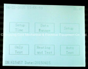 Gdgy Insulating Oil Dielectric Loss Tangent Tester pictures & photos