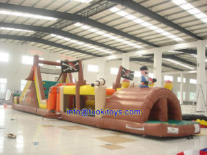 Less Maintenance Inflatable Obstacle Used for Recreational Purpose (A535) pictures & photos