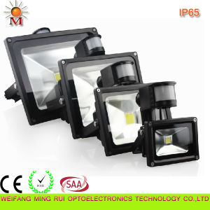 10W-50W Outdoor PIR Motion Sensor LED Flood Light pictures & photos