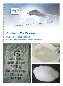 Industrial Grade Sodium Sulphate Anhydrous Na2so4 99% Min/pH 6-8 or pH 9-11 pictures & photos