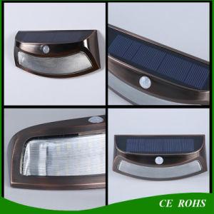 Novel Smile Solar PIR Motion Sensor Wall Light Easy Install Decorative Outdoor Dim Solar Garden Light pictures & photos