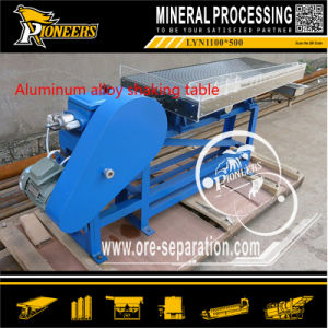 Fine Sand Gold Finishing Tables Mining Machinery Small Shaking Table