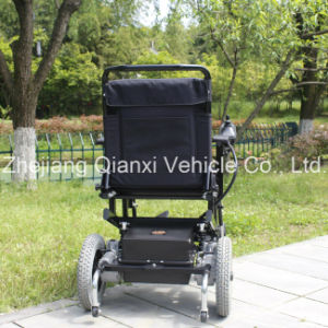 Electric Power Wheelchair with Paded Seat and Paded Back (XFG-107FL) pictures & photos