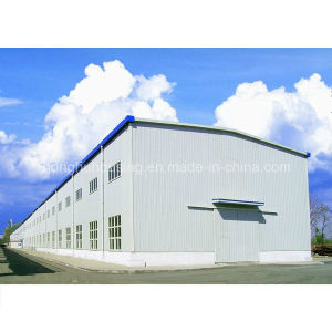 Light Steel Structure Prefabricated House Building Warehouse Workshop Sheds pictures & photos