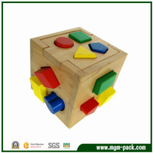 Factory Price Cube-Shaped Wooden Toy for Kids 3 Years up pictures & photos