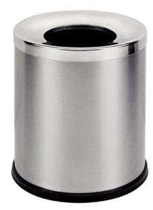 Round Stainless Steel 12L Swing Waste Bin (KL-52) pictures & photos