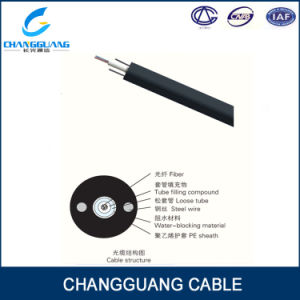Factory Supply GYXY Optical Fiber Cable Unitube Non-Armored Cable with 2 Steel Wires at 2sides pictures & photos