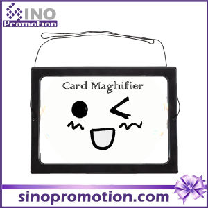 Card Magnifier with Hang Rope Promotional Gift Magnifier