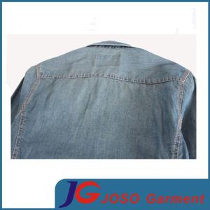 Retro Slim Leisure Denim Shirt for Man (JC7047) pictures & photos