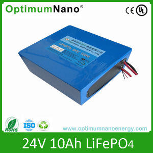Rechargeable 24V 10ah LiFePO4 Battery for Wheelchair pictures & photos