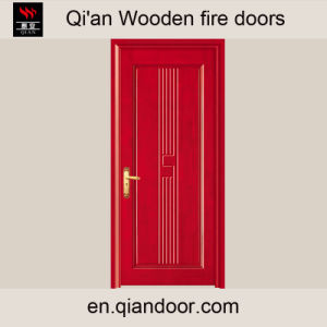 Interior Fire-Resistant Single Wooden Door pictures & photos