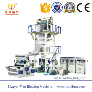 Three to Five Layers Co-Extrusion Film Blowing Machine Set (IBC) pictures & photos